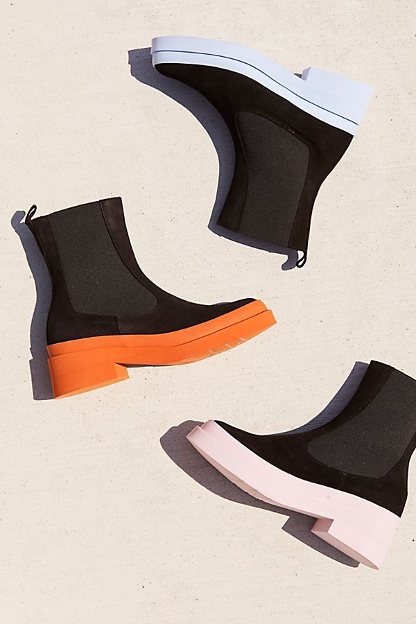730777caadc Andre Chelsea Boot - Modern Black Chelsea Boot with Colored Soles