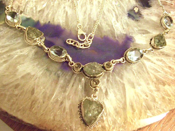 Colorchange Violet and Green ALEXANDRITE Gemstone, AQUAMARINE Rough and Herkimer…