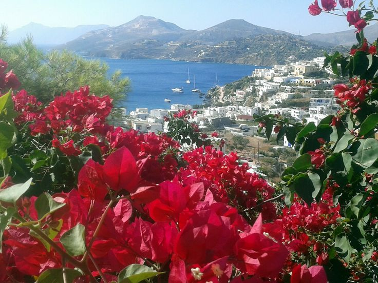 Coming down form Leros Castle...