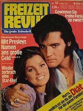 Freizeit Revue Nr.12 von 1978,Zeitschrift,Elvis Presley,Andrea Jürgens,Eva Renzi