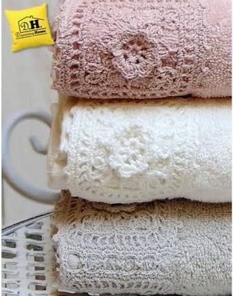 Resultado de imagem para shabby chic crochet