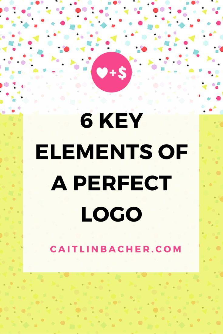 6 Key Elements Of A Perfect Logo   Caitlin Bacher