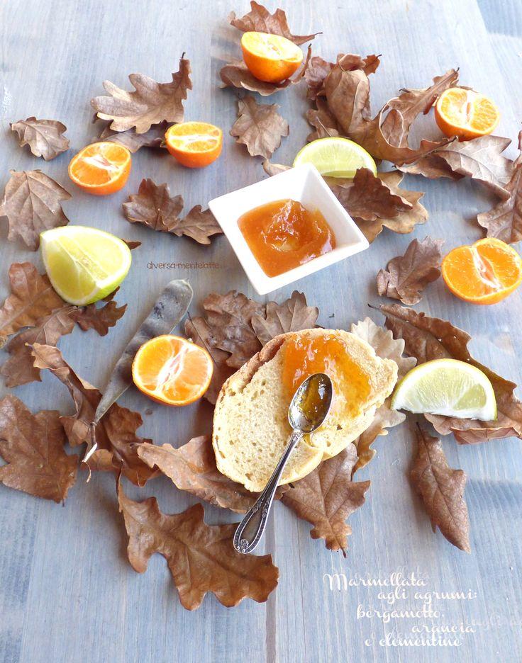 marmellata di #agrumi, bergamotto, clementine ed arancia