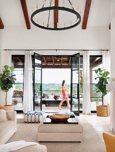 dream doors to outdoor space >> Style in Name and Nature - Austin Home Magazine - Summer 2014 - Austin, TX