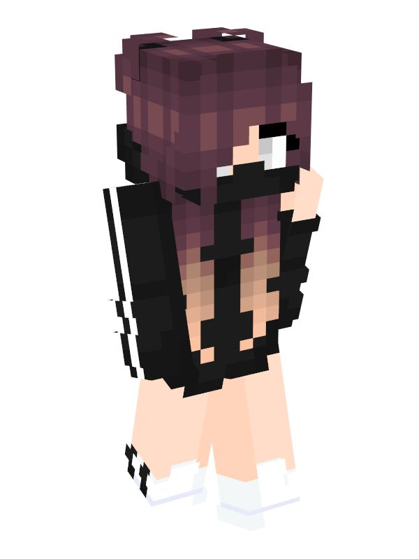Anime girl minecraft skin