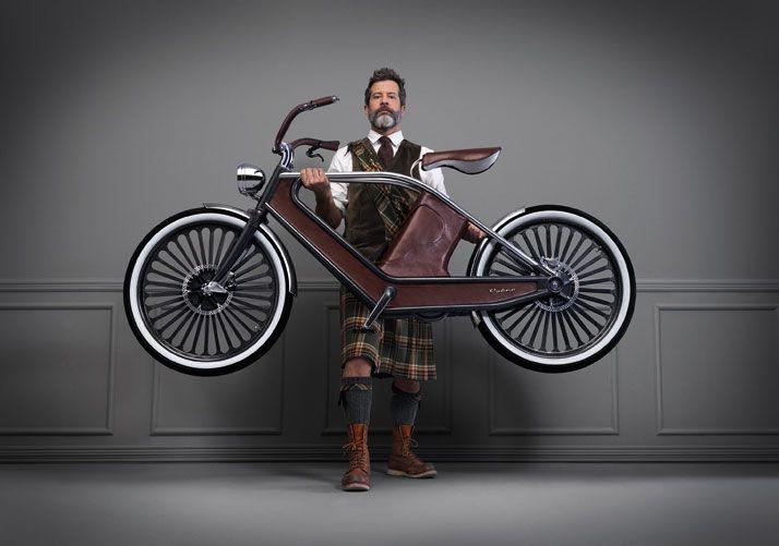 Italiano projeta bike elétrica com design vintage