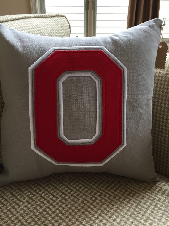 Ohio State Pillow