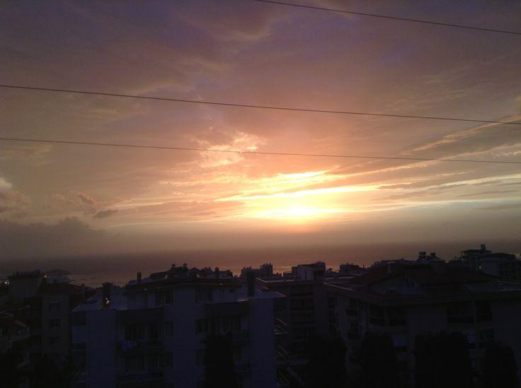 #kusadasi #sunset  #turkey