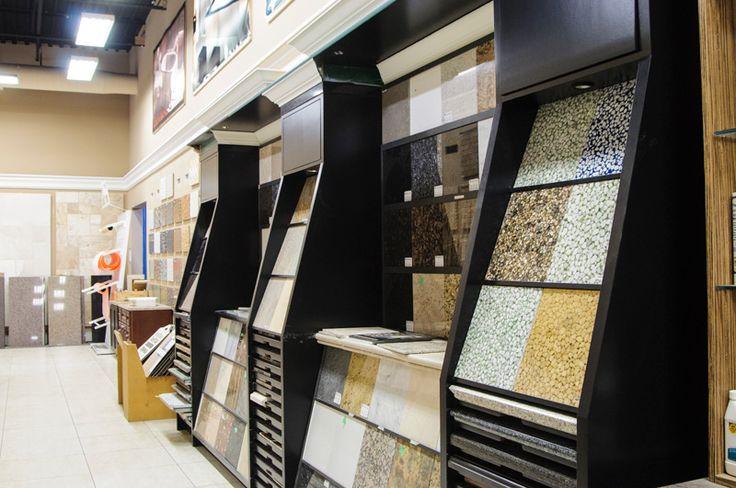 Granite Countertop Display Retail And Designer Showroom