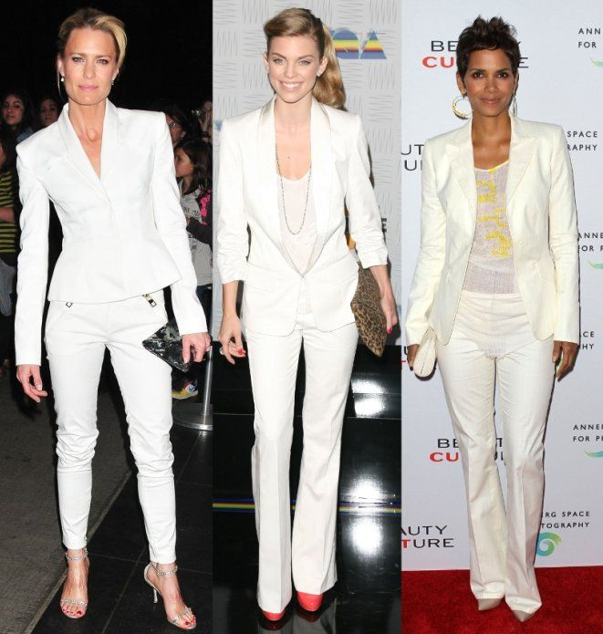83 best White Pants Suits images on Pinterest | Pant suits ...