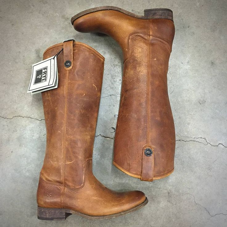 Women's Frye Boots Melissa Button  The perfect year round, go with anything riding boots!