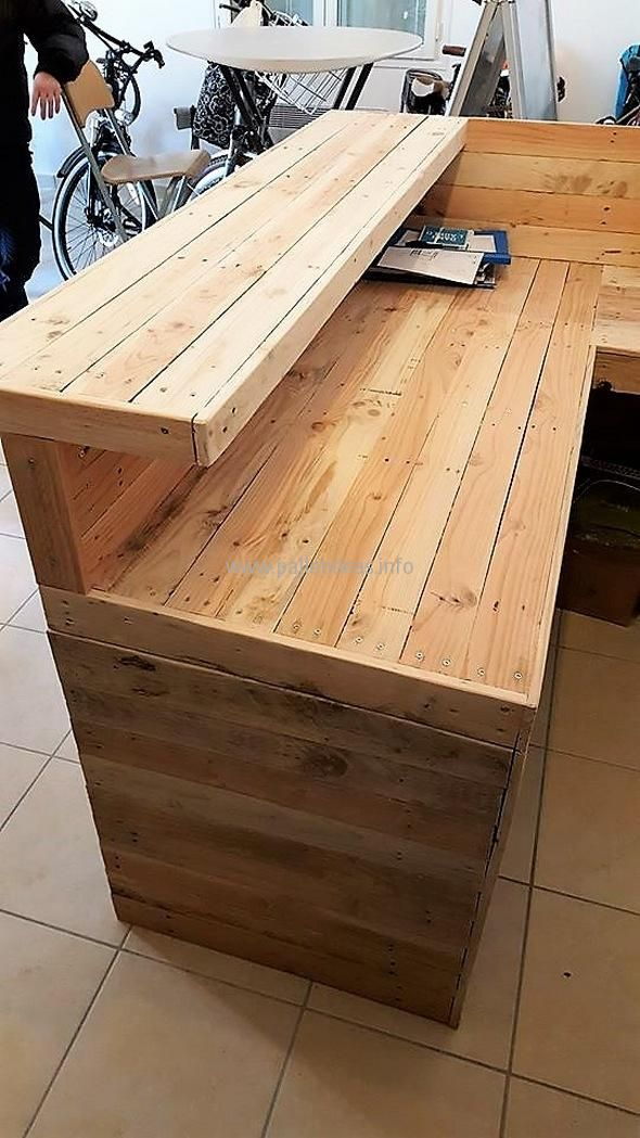 Okay, so this is some really high time for making something out of the shipping wood pallets especially for the official purpose. This is not like we are grabbing or dragging the wood pallet into the formal affairs of the venue like offices and commercial areas, but this is being done after the massive demand …