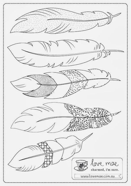 25+ Best Ideas about Feather Template on Pinterest | Paper ...