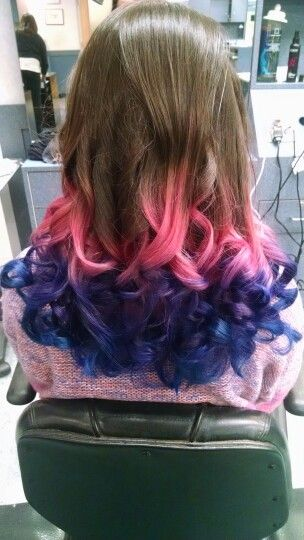 My clients ombre