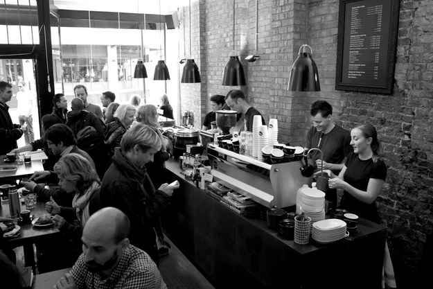 Kaffeine in London  and Workshop Coffee in London  Two of 25 Coffee Shops to see by BuzzFeed