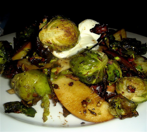 """Alta"" Brussels Sprouts: Side Dishes, Alexandra Kitchens, Pistachios, Roasted Brussels Sprouts, Fresh,  Modern Cream, Apples, Favorite Recipes, Alta Brussels, Brussel Sprouts"