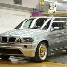 Тюнинг - Обвес LeMans  на BMW X5 E53