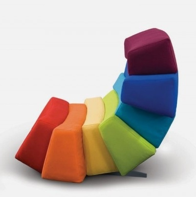 Find This Pin And More On Colors. Colourful Furniture Collection Inspired  By The Rainbow ... Amazing Design