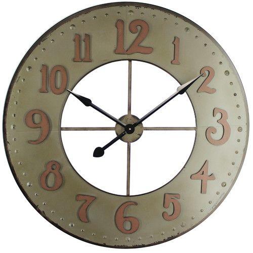 found it at wayfair oversized wall clock