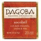 Dagoba Chocolate Tasting Square Xocolatl 74% (50x9 Gm)