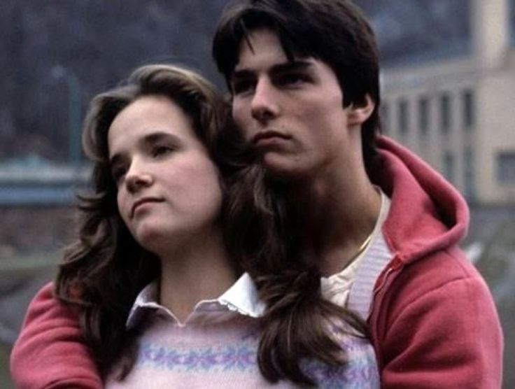 All the Right Moves - Lea Thompson and Tom Cruise - the small town fears of high-school kids forced to grow up too soon, the gloomy and rainy football scenes, and the simple yet overwhelming power of young love, all captured in one movie.