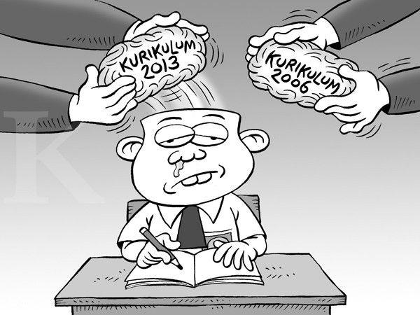 Kartun Benny, Kontan - Desember 2014: Benny Rachmadi - Ganti Pemerintah Ganti Kurikulum