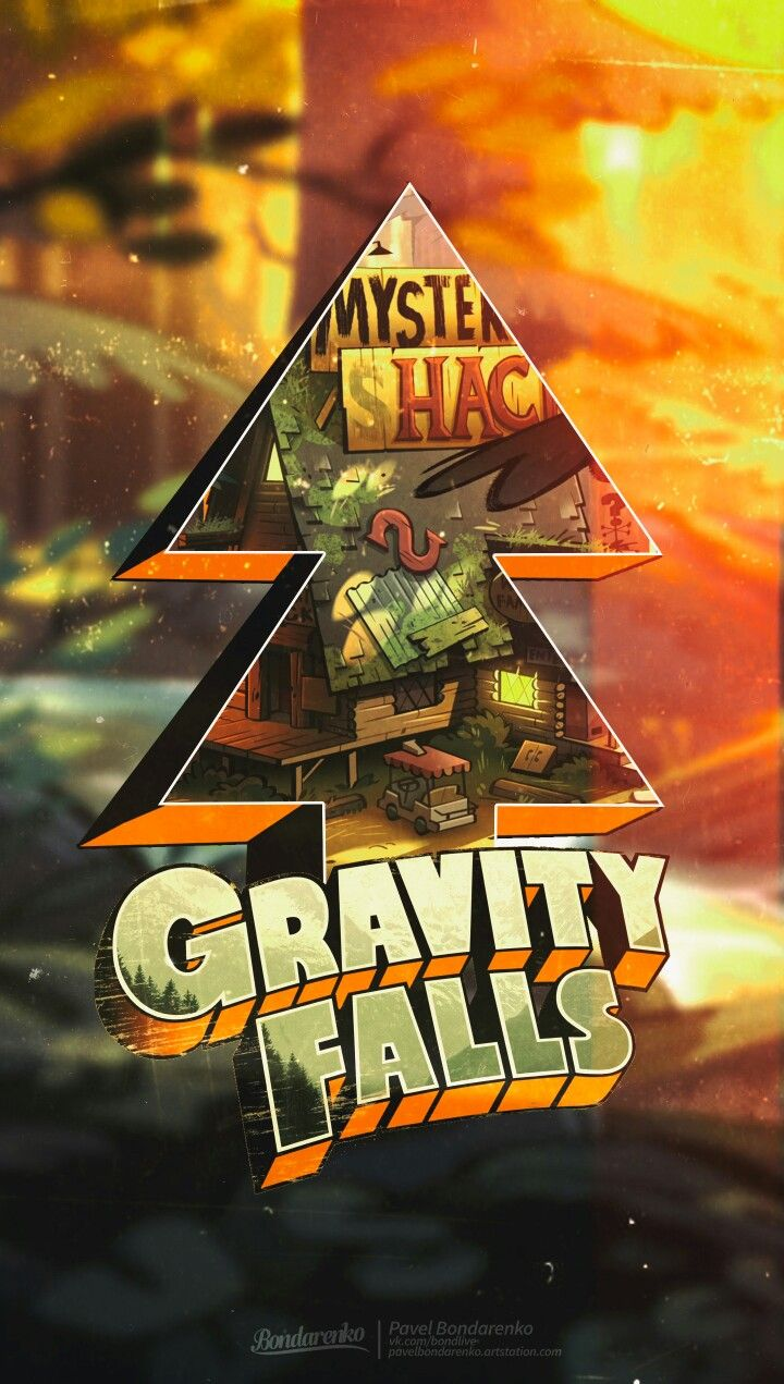 Gravity Falls Telephone Wallpaper