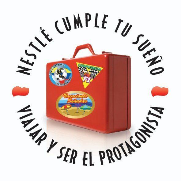 Diseño de logotipo para promocion interna para la fuerza de venta de Nestlé