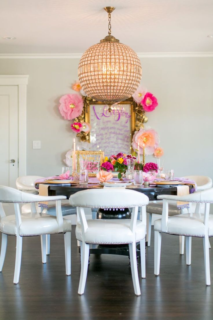 205 best dining rooms images on pinterest dining room dining engagement party inspiration by lovelyfest events
