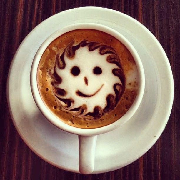 """Smiley sunny face"" @Stizzoli"