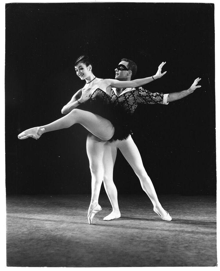 John Gilpin Carla Fracci Original Houston Rogers Ballet  1960