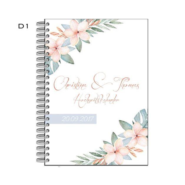Dieser praktische Kalender im Handtaschenformat ist der ideale Begleiter jeder Braut und Trauzeugin. Wie ein normaler Kalender beitet er natürlich genügend Raum für die alltäglichen Termine, *ABER*...