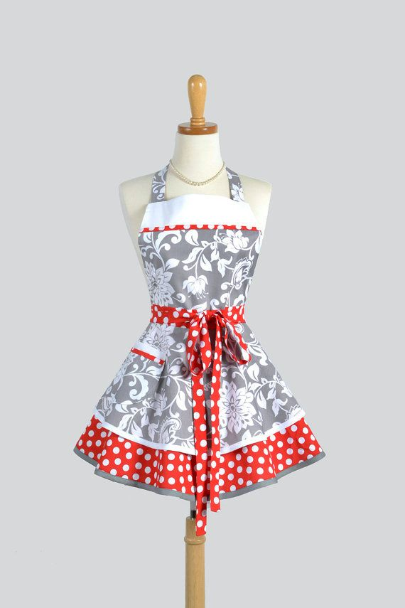 best 20+ kitchen aprons ideas on pinterest | apron, vintage apron