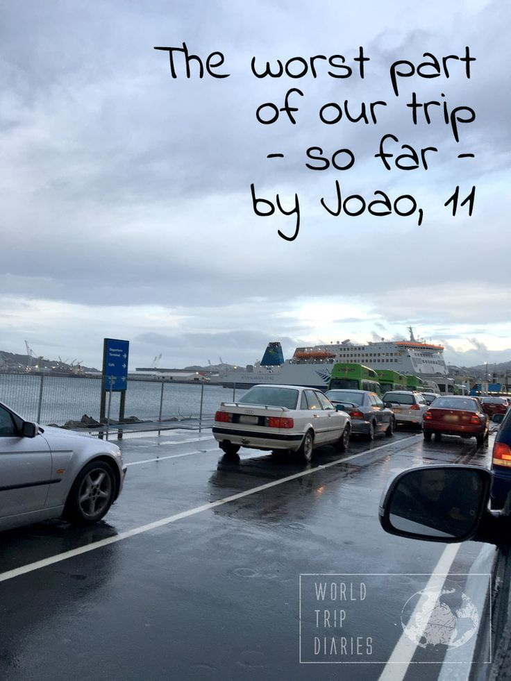 Joao (11) talks about the worst part of a road trip - in his opinion, of course. - World Trip Diaries