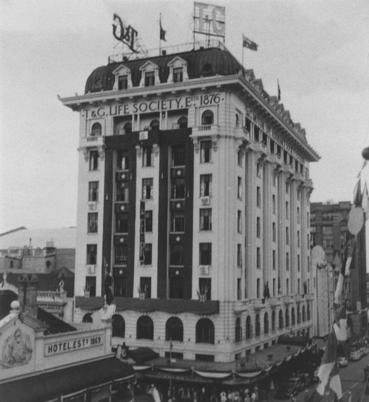 T & G Building, Corner Albert And Queen Streets