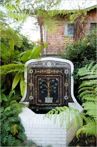 the masters mosaics the new york times home garden slide show - New York Times Home And Garden