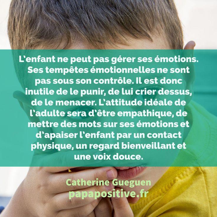 Le cerveau de l'enfant est immature. Ce fait est d'autant plus important car il est la clé de leur comportement et de leur épanouissement. Voici les explications de Catherine Gueguen.