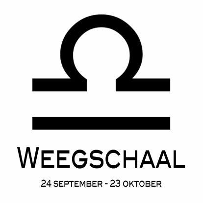 19 October/Libra - 19 Oktober/ Weegschaal