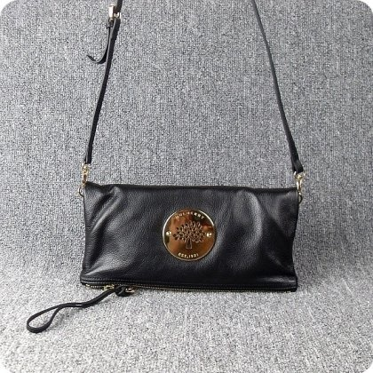 Mulberry Bags Daria Clutch Soft Spongy Leather Black, 889 kr.