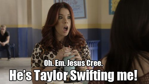 Awkward MTV - He's Taylor Swifting me!