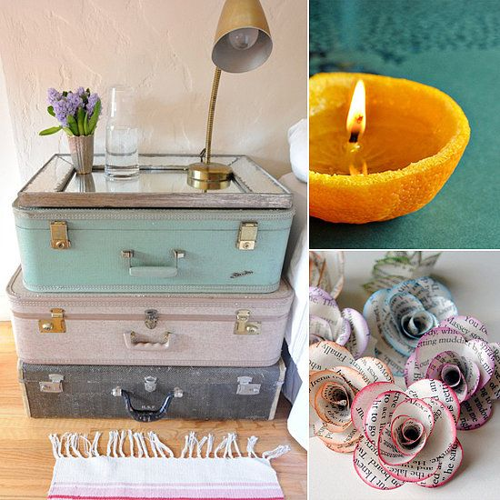 151 Upcycling Ideas That Will Blow Your Mind If you're the type of person who's loath to throw anything away, then turn your unwanted items into gorgeous DIY projects. After all, one person's trash is another's treasure, right? Get inspired by these DIY ideas for ordinary household objects.