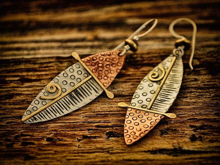 Mixed Metal Jewelry, Q. Miller Handmade Jewelry