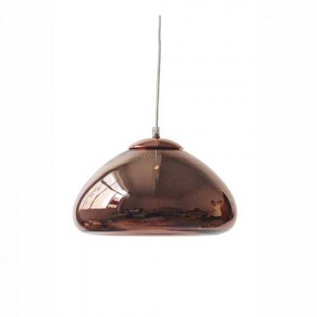 Suspension simple Cuivre 60 W - FAUVE HL150035 - Laurie Lumière