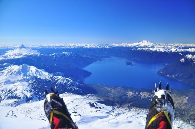 Ascenso al Volcan  Osorno , Chile