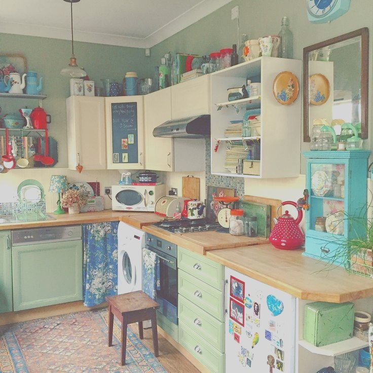 15 Latest Quirky Kitchen Ideas Photography Retro Kitchen Quirky Kitchen Vintage Kitchen