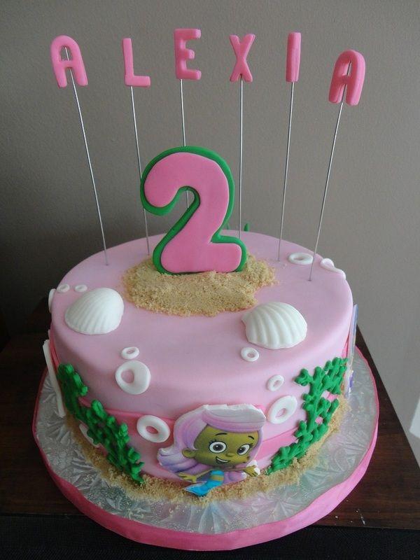 Bubble Guppies Birthday Cake Edible Bliss Cakes