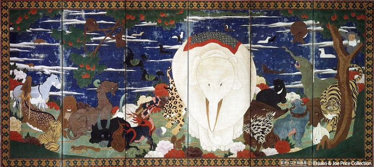 """""""Animals & Botanicals"""" by Jakuchu Ito"""
