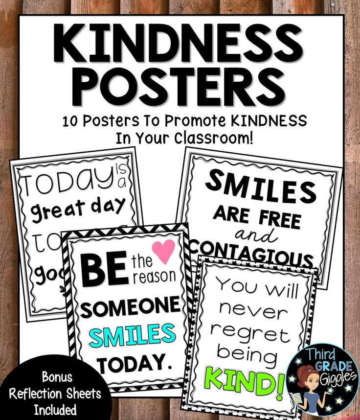 Encourage kindness in your classroom by displaying these kindness quotes and sayings. Included are 10 posters about kindness. Also included are student reflection sheets to encourage meaning discourse about kindness.