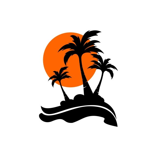 Palm Coconut Tree Logo Icon Logo Icons Tree Icons Palm Icons Png And Vector With Transparent Background For Free Download Ilustrasi Pohon Menggambar Pohon Pohon