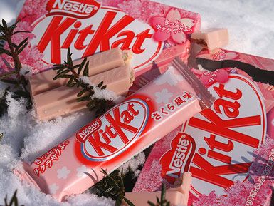 Haha! What's better then KitKat? .. Japanese Cherry Blossom edition KitKat!